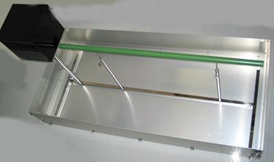 Balanced beam test